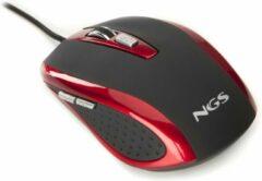 Rode NGS Red tick muis USB Type-A Optisch 800 DPI Rechtshandig