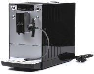 Zilveren Melitta Caffeo SOLO Perfect Milk E957-103- Volautomaat Espressomachine - Zilver