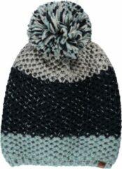Sarlini Muts dames - Muts dames pompon - Winter - Gebreid - One size - Blauw - Ski