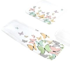 Wanneneinlage 'Schmetterling' Kleine Wolke bunt