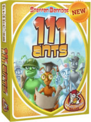 Gele White Goblin Games kaartspel 111 Ants (NL)