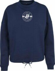 FitProWear Hoodie Dames - Donkerblauw - Maat XL - Dames - Oversized pasvorm - Sporttrui - Sweater - Hoodie - Trui dames - Trui - Katoen / Polyester - Trui Capuchon - Sportkleding - Casual kleding