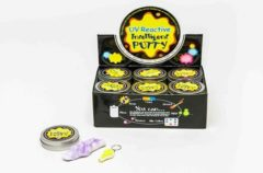 TOM putty UV reactive junior 8,4 cm paars