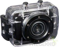 Zwarte Velleman - actie- en sportcamera - 720P HD - Actioncam