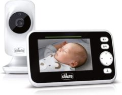 Witte Chicco Babyfoon Video Deluxe