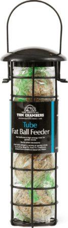 Afbeelding van Zwarte Tom Chambers Voedersilo incl. 4 vetballen