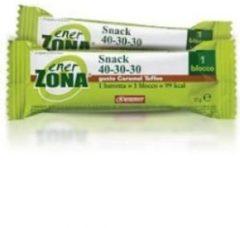 Enerzona Snack 40-30-30 barretta gusto Caramel Toffee 25g