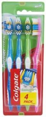 Paarse Colgate - Premier Clean Medium Toothbrush ( 4 Ks ) - Toothbrushes