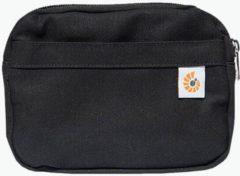 Zwarte Ergobaby Omni 360 - Pure Black - ergonomische draagzak vanaf geboorte zonder verkleinkussen (alle posities)