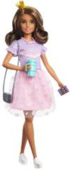 Roze Barbie Princess Adventure Teresa Pop (30 cm) met Outfit en Accessoires