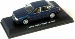 Lancia Thema Turbo I.E.1988 Donkerblauw 1:43 Edison Giocattoli