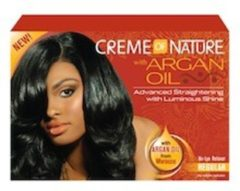 Creme of Nature - Argan Oil - Relaxer- Regular