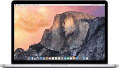 Zilveren Apple Refurbished MacBook Pro Retina 15 inch   Quad Core i7 2.5   16GB   256GB SSD   Licht gebruikt   2 jaar garantie   Refurbished Certificaat   leapp