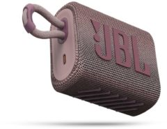 JBL Go 3 Roze - Draadloze Bluetooth Mini Speaker