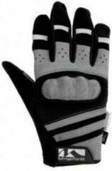 M-wave Gel Fietshandschoenen Protect Zwart/grijs Maat 8