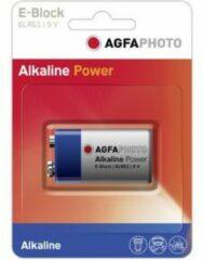 AgfaPhoto 6LR61 9V batterij (blok) Alkaline 9 V 1 stuk(s)