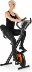 Oranje Klarfit X-Bike XBK700 Pro fiets-hometrainer ergometer polsmeter klapbaar