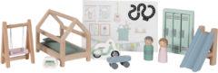 Little Dutch houten poppenhuis uitbreidingsset kinderkamer 12-delig