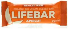 Lifefood Lifebar abrikoos bio 47 Gram