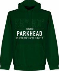 Donkergroene Retake Celtic Parkhead Coördinaten Hoodie - Groen - M