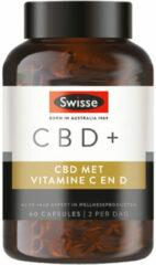 Swisse Cbd+ Vitamin C And D (60 Capsules)