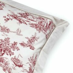 LOBERON Beddengoed Toile rouge wit/rood