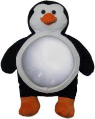 Zwarte Miyali LUCA Spiegel voor autostoeltjes, Design pinguïn