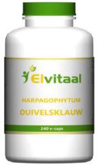 Elvitaal Duivelsklauw harpagophytum 240 Stuks
