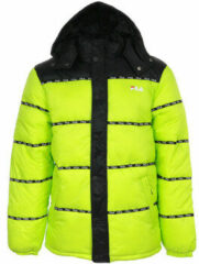 Groene Donsjas Fila Tatsuji Puff Jacket