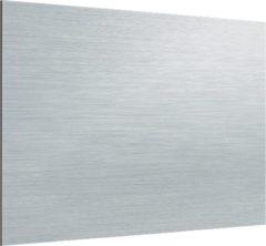 Zambala Uni Metallic Aluminium keuken spatwand voor fornuis 90x65 cm