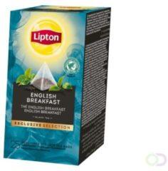 Lipton Tea Company Lipton thee, English Breakfast, Exclusive Selection, doos van 25 zakjes