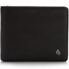 Castelijn & Beerens Bi-fold portemonnees Vita Billfold 5 Creditcards Zwart
