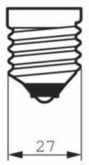 Philips Lampen vintage E27 40W 230V PH 929001977901 Zwart