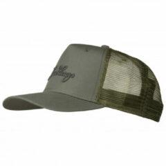 Lundhags - Trucker Cap - Pet maat One Size, grijs/olijfgroen/zwart