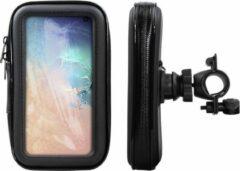 Zwarte Shop4 telefoonhouder fiets - Samsung Galaxy S10 - Waterdicht