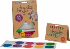 DoddleBags Box - DoddleBags knijpzakjes 200 ml + DoddleStickers