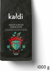 Kaldi Koffiebonen Asian groen Emeralds - 1000 gram