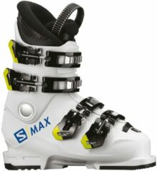 Witte Salomon S/Max 60T L skischoen jr - White - Wintersport - Wintersport schoenen - Skischoenen