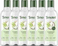 Timotei - Shampoo - Coconut Pure - 6 x 300 ML - Voordeelverpakking