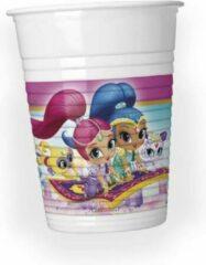 Nickelodeon Shimmer and Shine Bekers Karton 200ml 8 stuks