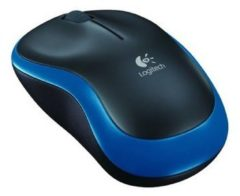 Mouse Wireless Logitech M185 - Blu