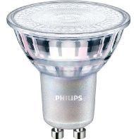 Zilveren Philips LEDspot MV Value GU10 4.9W 940 36D (MASTER) | Beste Kleurweergave - Koel Wit - Dimbaar - Vervangt 50W