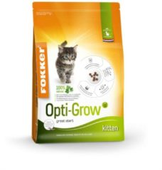 3x Fokker Cat Opti Grow Kitten 2,5 kg