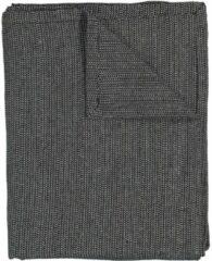 HEMA Tafelkleed - 140 X 240 - Cambray Katoen - Zwart/wit (zwart/wit)