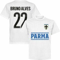 Retake Parma Bruno Alves 22 Team T-Shirt - Wit - 4XL