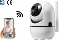 Witte Living Needs Baby Camera – Babyfoon met Camera – Spraakfunctie – Bewegingsdetectie.