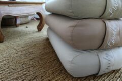Lively collection Yoga Bolster - Blush - rechthoek - plat