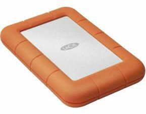 Afbeelding van LaCie STJJ5000400 Rugged Mini Externe harde schijf (2.5 inch) 5 TB Zilver, Oranje USB 3.0