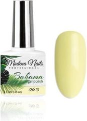 Groene Modena Nails Gellak Bahama - B06 7,3ml.