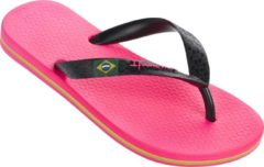 Roze Ipanema Classic Brasil Kids Slippers - Pink/Black - Maat 31/32